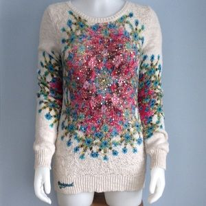 🌺 Desigual 🌺 Gorgeous Floral Sweater